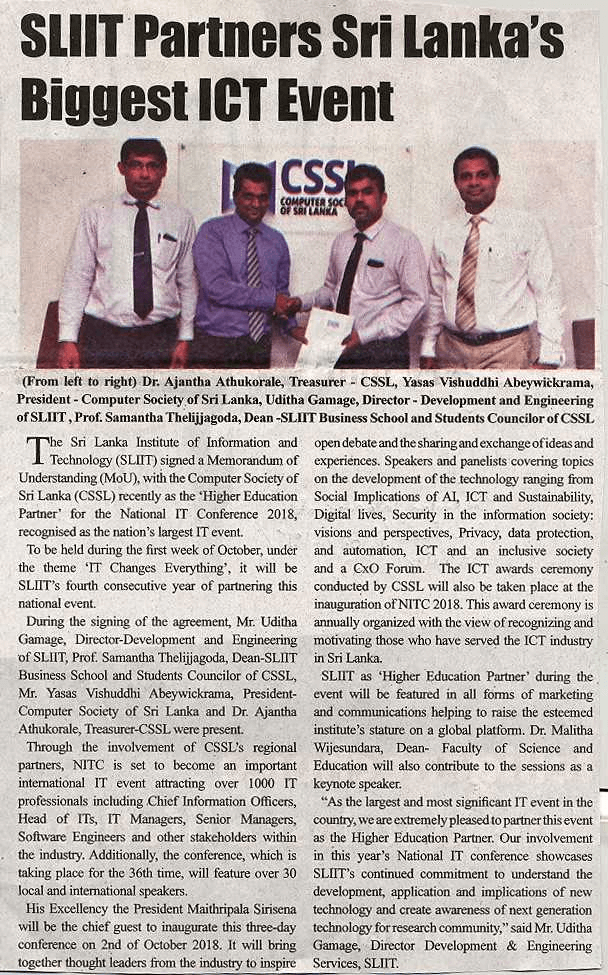 SLIIT-partners-Sri-Lanka-biggest-ICT-event