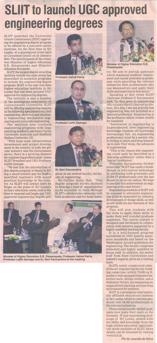 SLIIT-to-launch-UGC-Approved-Engineering-Degrees-Daily-FT-24.01.2013
