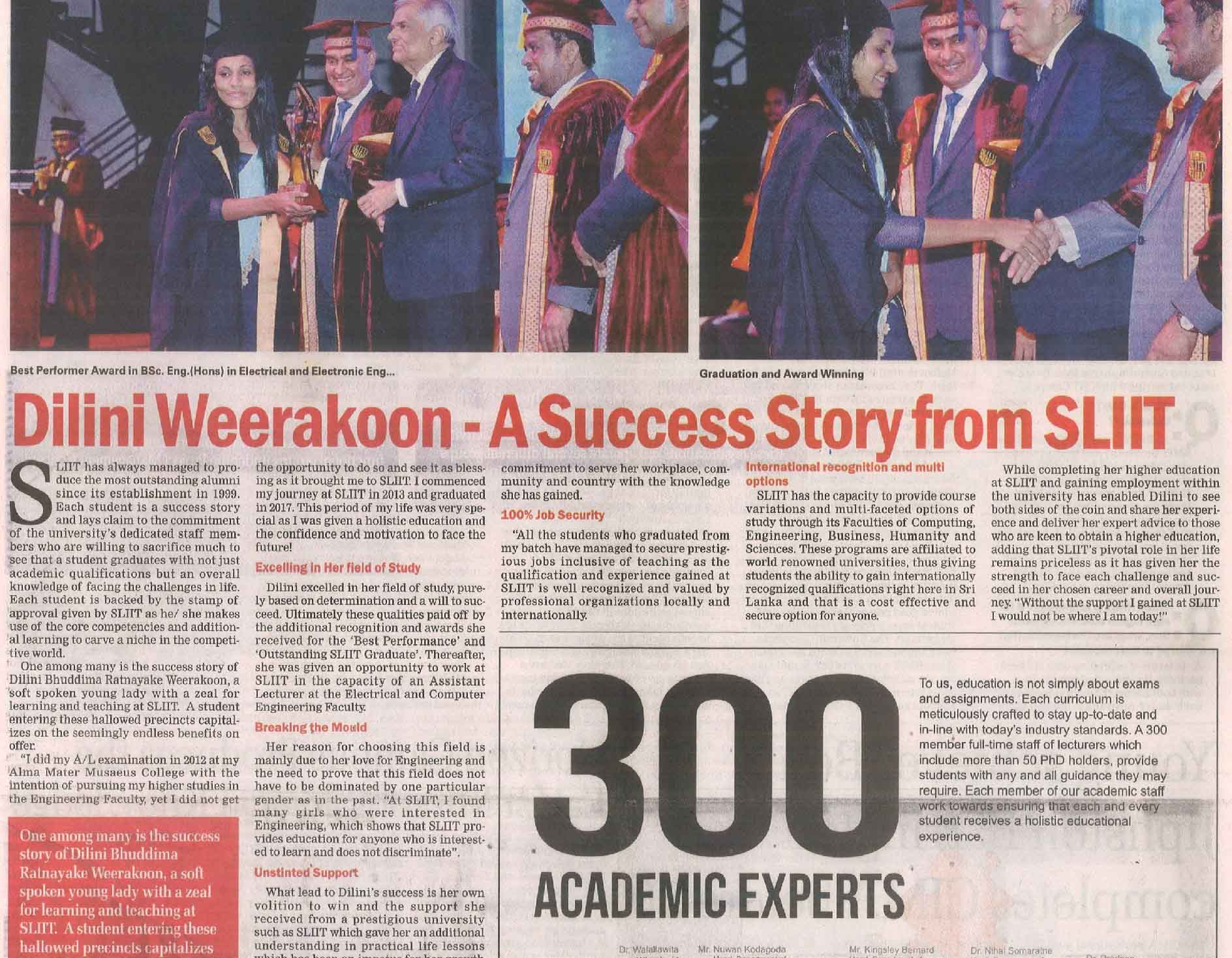 Success-Stories-backed-by-SLIIT-with-Dilini-Weerakoon-Sunday-Times12.08...