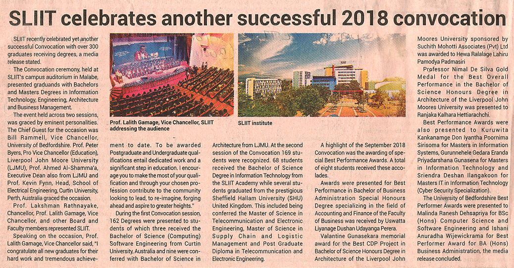 SLIIT-Celebrates-another-Successful-2018-Convocation-Ceylon-FT-29-10-2018