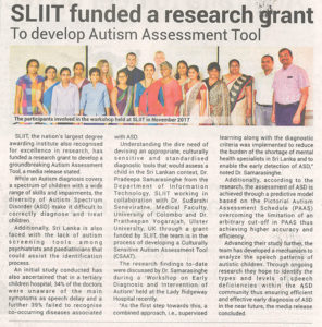 SLIIT-Funded-a-Research-Grant-to-Develop-Autism-Assessment-Tool-Ceylon-Today-25-12-2018