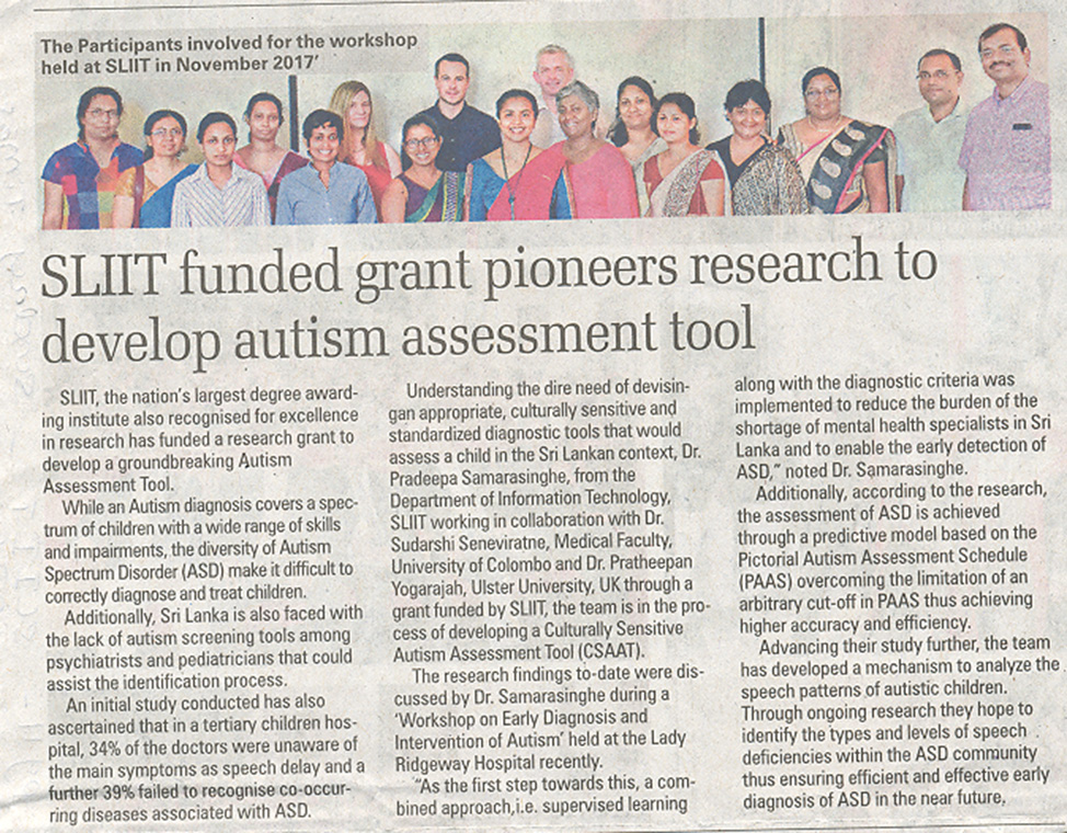 SLIIT-Funded-Grant-Pioneers-REsearch-to-Develop-Autism-Assessment-Tool-Sunday-Times-23-12-2018