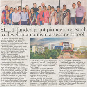 SLIIT-Funded-Grant-Pioneers-Research-to-develop-Autism-Assessment-Tool-The-Morning-23-12-2018