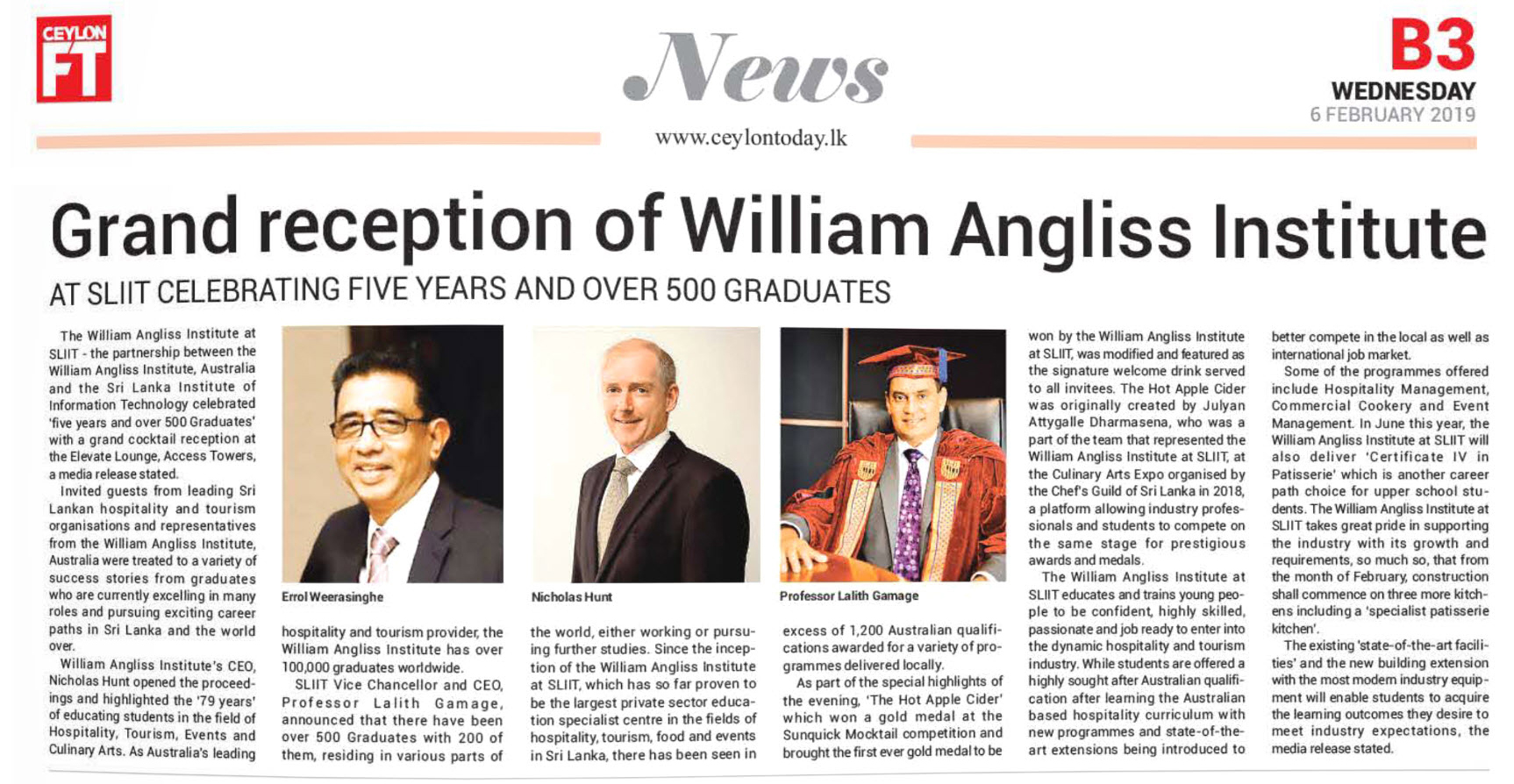 Grand-Reception-of-William-Angliss-Institute-At-SLIIT-Celebrating-Five-Years-and-Over-500-Graduates-Ceylon-Today
