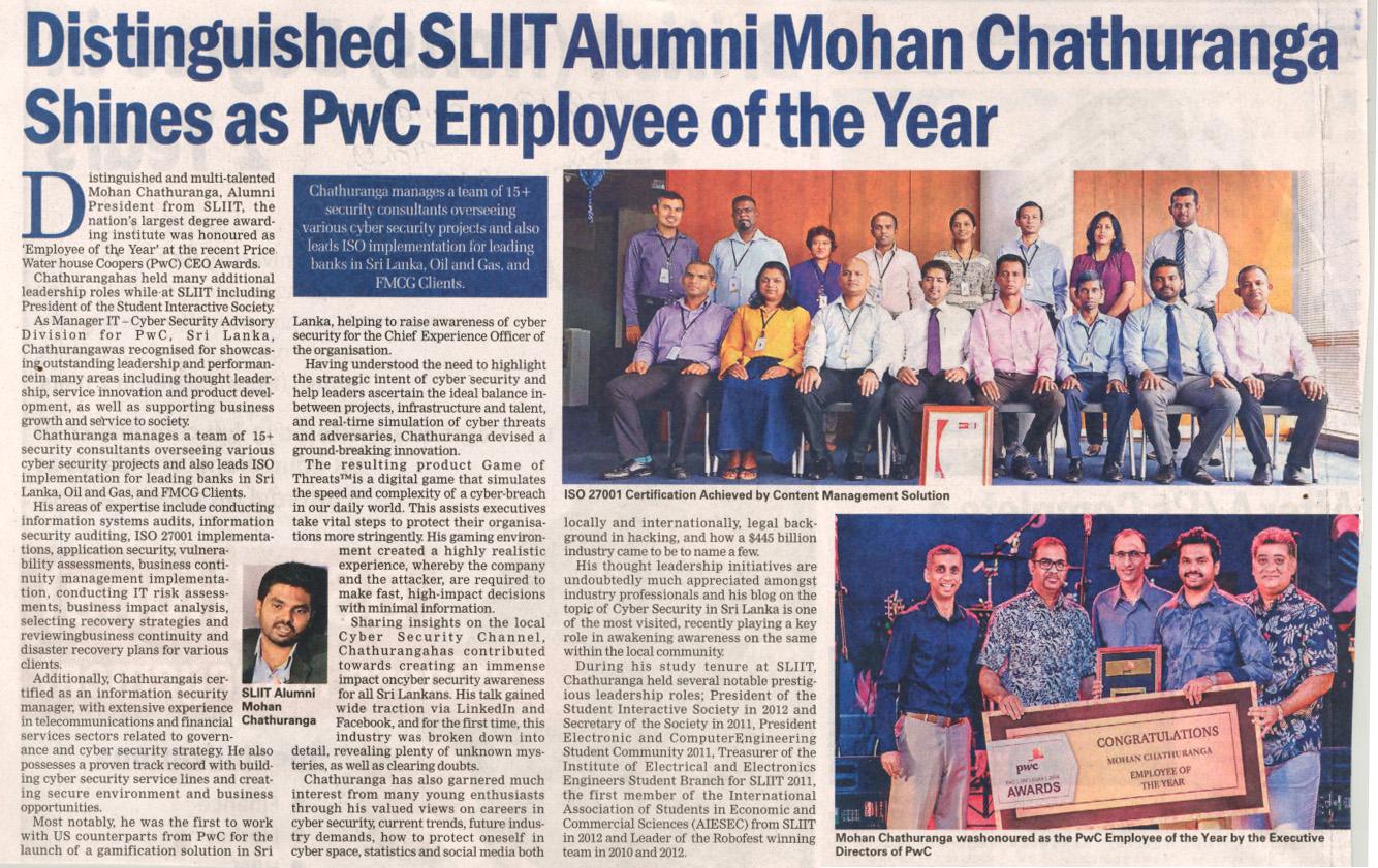 SLIIT-Alumnus-Mohan-Chathuranga-named-PwC-Employee-of-the-Year-Sunday-Times-13-01-2019