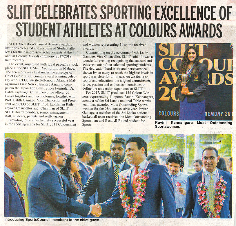 SLIIT-Celebrates-Sporting-Excellence-of-Student-Athletes-at-Colours-Awards-2018-Daily-News-18-01-2019