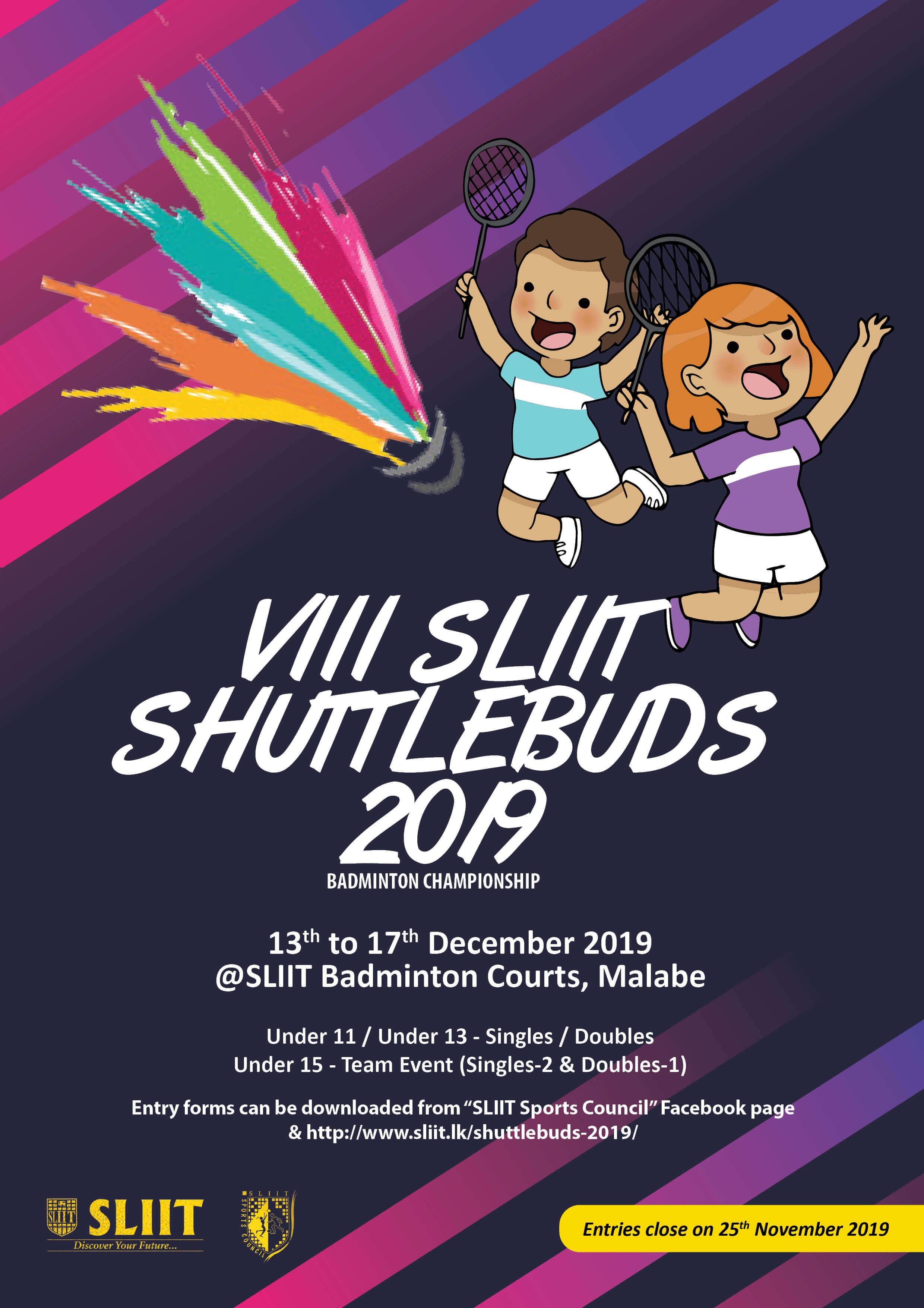 8th-SLIIT-ShuttleBuds-2019