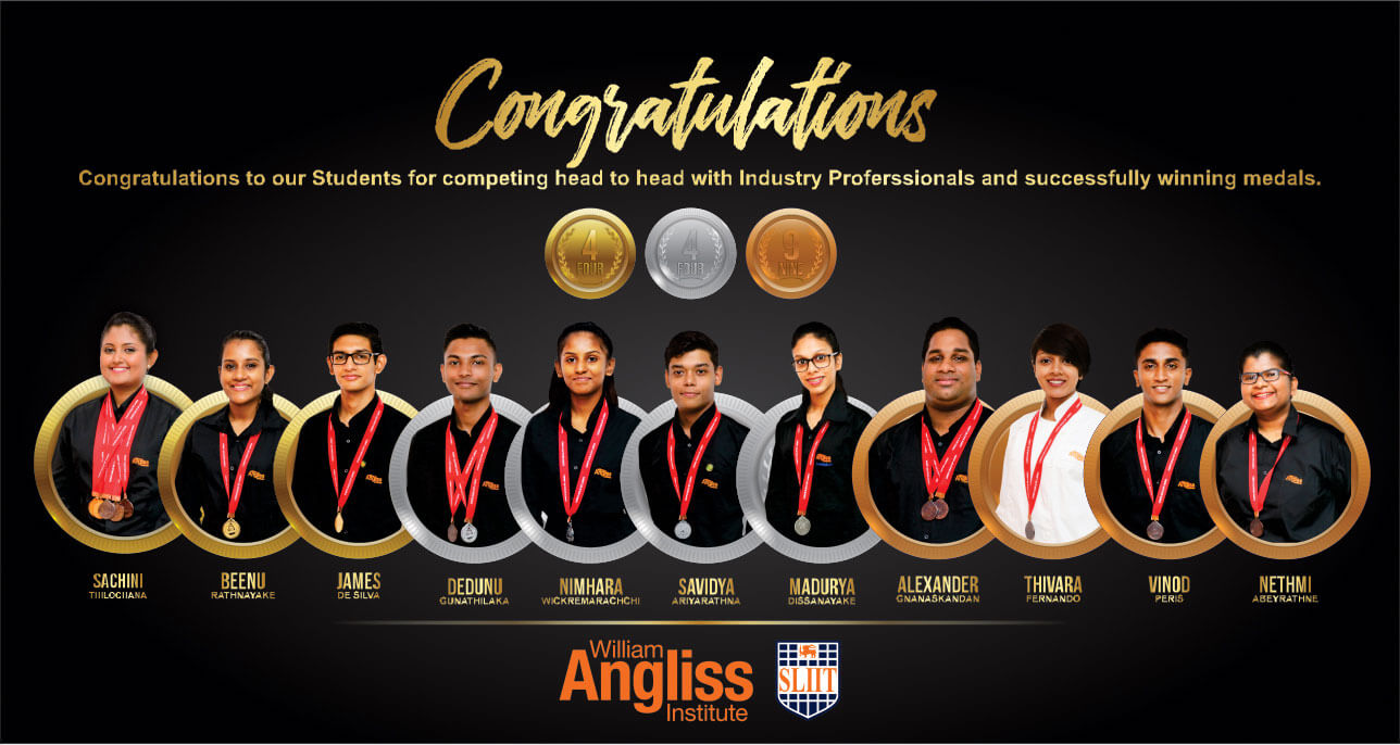 William-Angliss-Institute-SLIIT-shines-with-Gold,-Silver-and-Bronze-Medals-