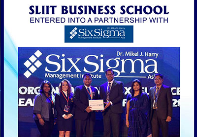 SLIIT Business School signed an MOU with Six Sigma Management Institute