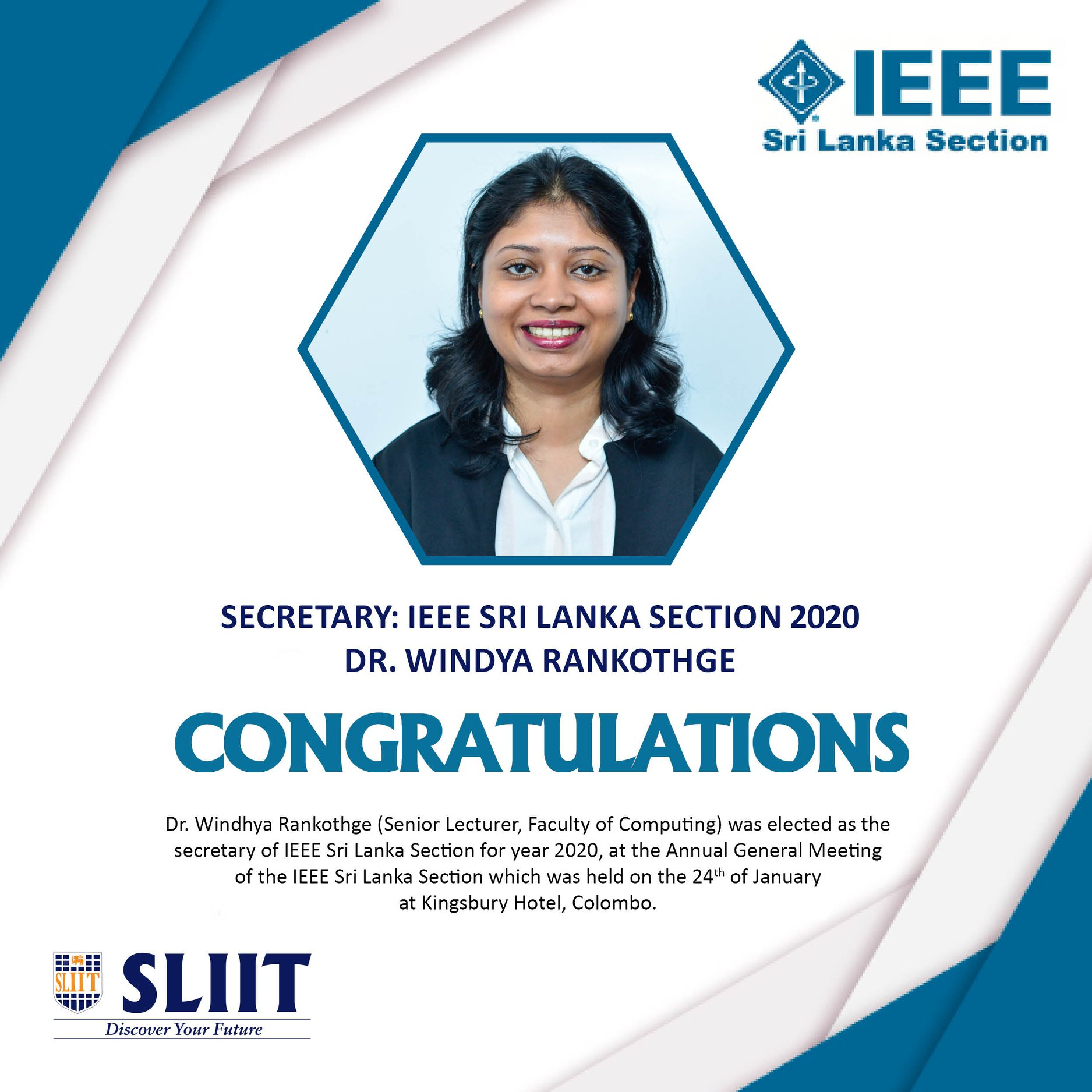 Congratulations-Dr.-Windhya-Rankothge-Secretary-of-IEEE-Sri-Lanka-Section-for-year-2020