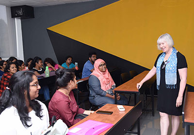 Australia-Prof-Anne-Marie-Morgan-Dean-College-of-Arts-Society-and-Education-visited-SLIIT-