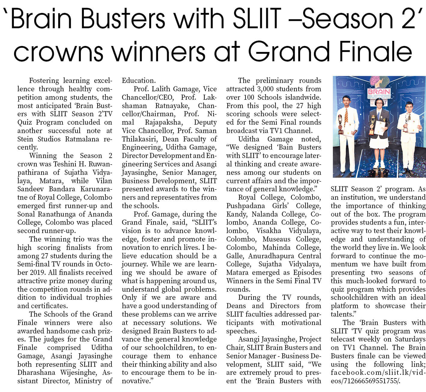 Brain-Busters-with-SLIIT-Season-2-Ends-in-High-Note-Sunday-Observer_07th-June