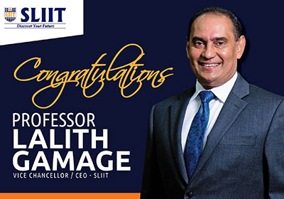 Congratulations to Prof.Lalith Gamage on your new appointment as Chairman of ICTA